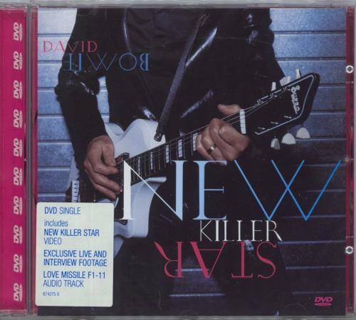 David Bowie New Killer Star DVD Single UK BOWDSNE257882