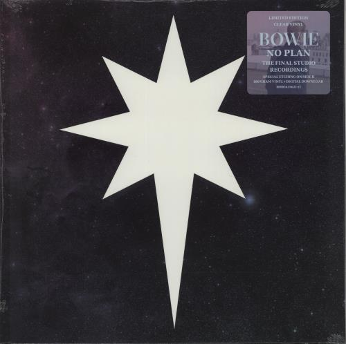"David Bowie No Plan - Clear Vinyl - RSD17 - Sealed 12"" vinyl single (12 inch record / Maxi-single) UK BOW12NO671658"