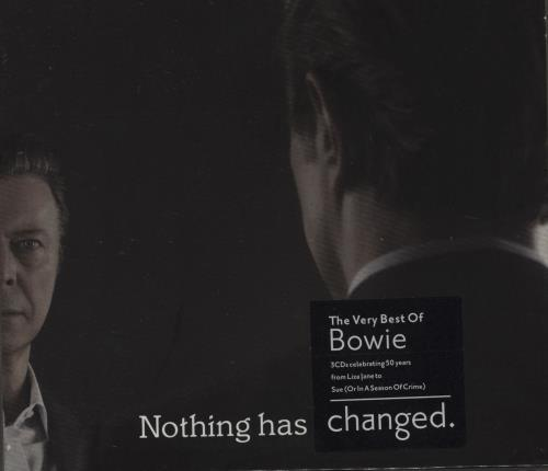 David Bowie Nothing Has Changed Deluxe Uk 3 Cd Album Set