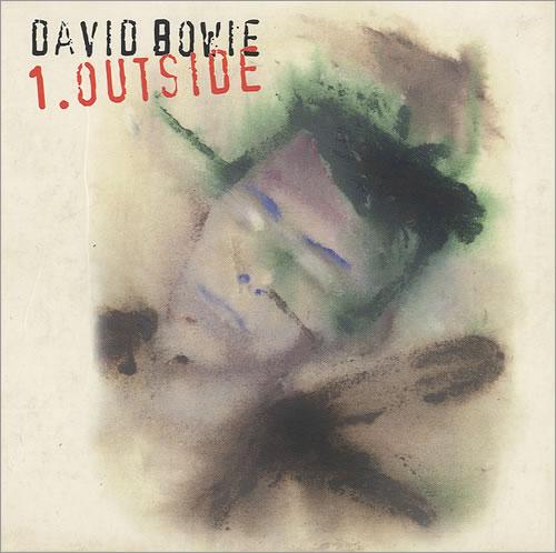 David Bowie Outside - Booklet Sleeve CD album (CDLP) UK BOWCDOU97995
