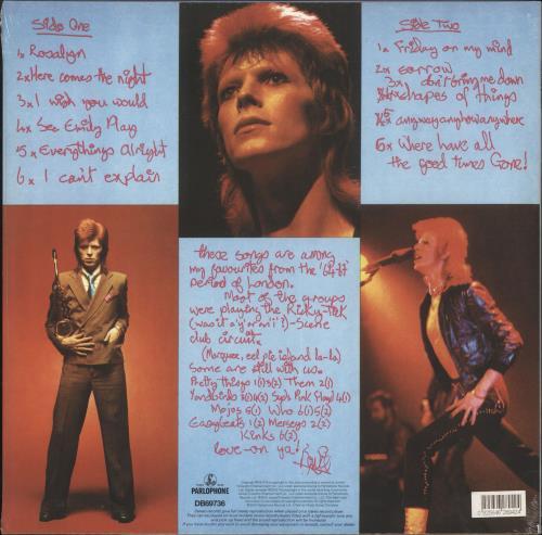 David Bowie Pin Ups - 180gm - Sealed vinyl LP album (LP record) UK BOWLPPI724269