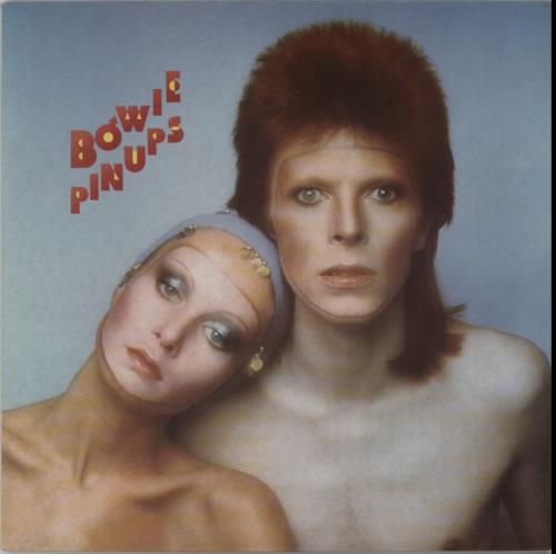 David Bowie Pin Ups - Contract Pressing vinyl LP album (LP record) UK BOWLPPI604161