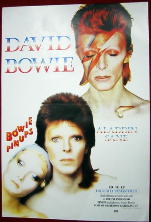 David Bowie Pinups Aladdin Sane Uk Poster 141679