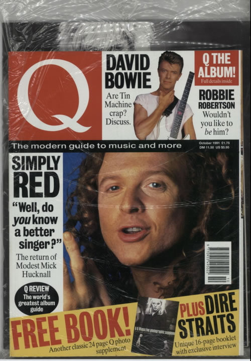 David Bowie Q Magazine magazine UK BOWMAQM378479