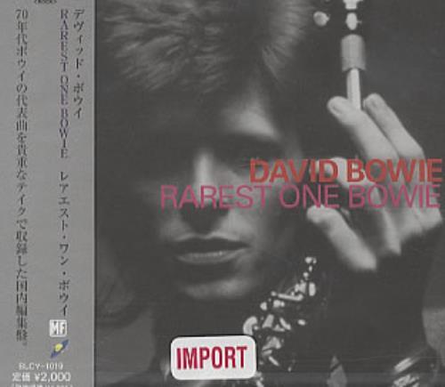David Bowie Rarest One Bowie CD album (CDLP) Japanese BOWCDRA323305