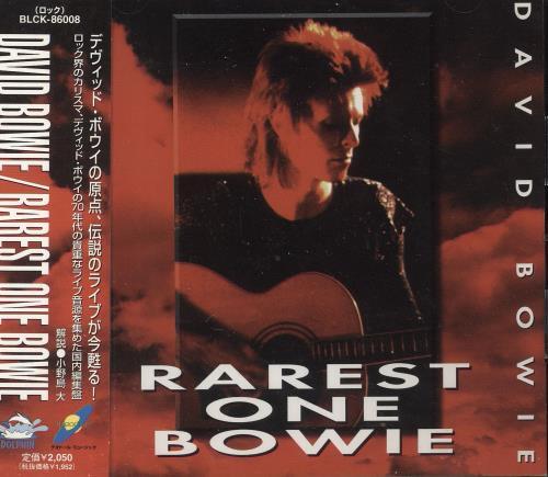 David Bowie Rarest One Bowie CD album (CDLP) Japanese BOWCDRA739318
