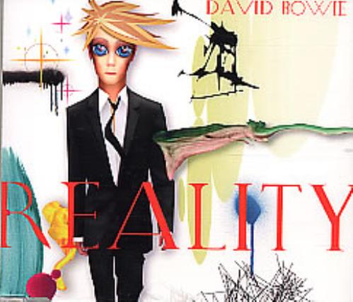 David Bowie Reality CD album (CDLP) UK BOWCDRE257434
