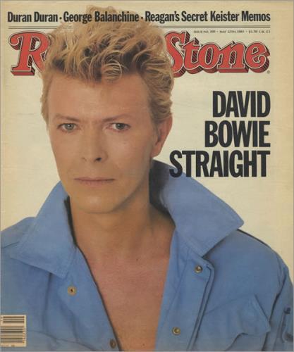 David Bowie Rolling Stone magazine US BOWMARO120894