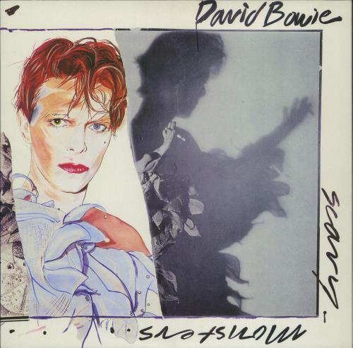 David Bowie Scary Monsters - 180gm vinyl LP album (LP record) UK BOWLPSC735804