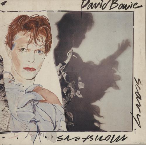 David Bowie Scary Monsters - EX vinyl LP album (LP record) Dutch BOWLPSC755687