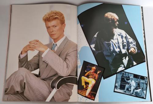 David Bowie Serious Moonlight Tour '83 + ticket stub tour programme Japanese BOWTRSE198471