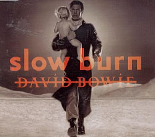 """David Bowie Slow Burn CD single (CD5 / 5"""") Mexican BOWC5SL221334"""