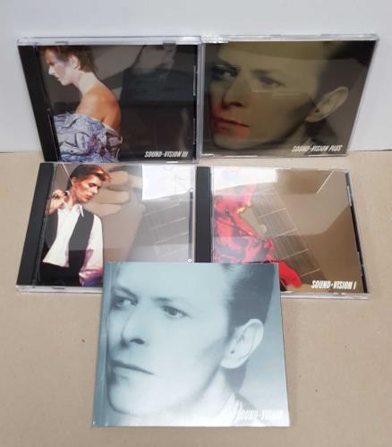 David Bowie Sound & Vision - Wooden Box - Autographed CD Album Box Set US BOWDXSO123270