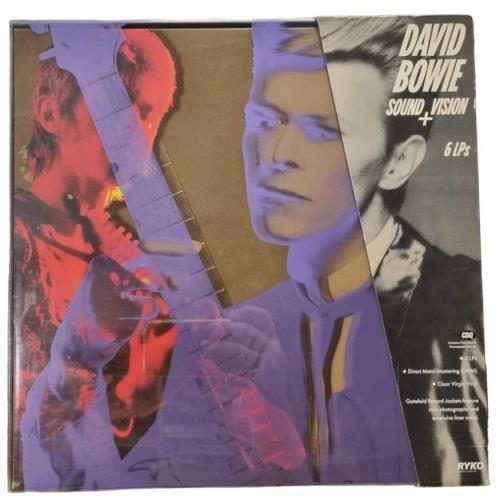 David Bowie Sound + Vision + Card Corner Obi - EX Vinyl Box Set US BOWVXSO136328
