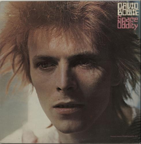 David Bowie Space Oddity - 1st + Inner - VG vinyl LP album (LP record) UK BOWLPSP655369