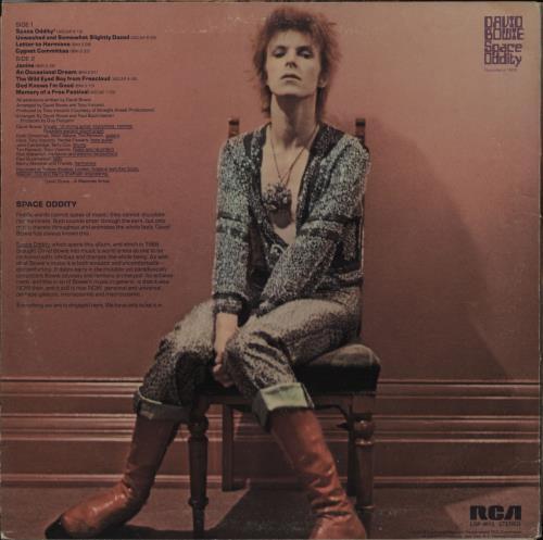David Bowie Space Oddity - Complete - Dynaflex vinyl LP album (LP record) Canadian BOWLPSP763014