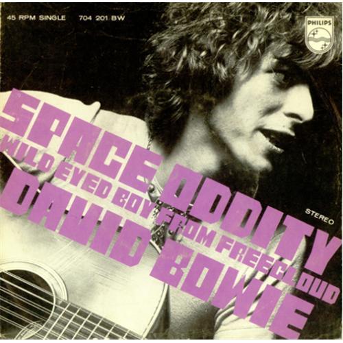 "David Bowie Space Oddity - NOC 7"" vinyl single (7 inch record) Dutch BOW07SP419858"