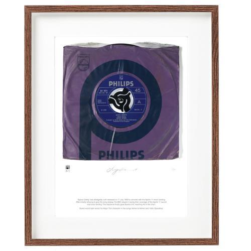 David Bowie Space Oddity - SuperSizeArt Numbered Print artwork UK BOWARSP731111