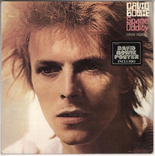 David Bowie Space Oddity vinyl LP album (LP record) Spanish BOWLPSP726691