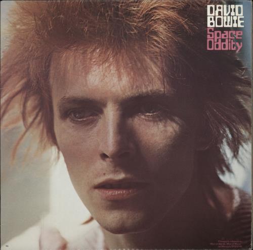 David Bowie Space Oddity vinyl LP album (LP record) US BOWLPSP766363