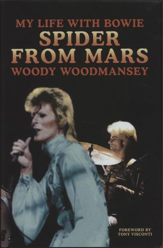 David Bowie Spider From Mars - My Life With Bowie book UK BOWBKSP664791