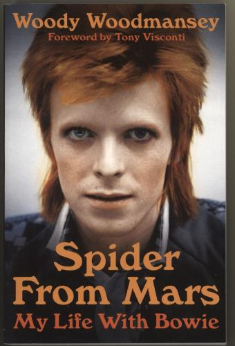 David Bowie Spider From Mars - My Life With Bowie book UK BOWBKSP717114