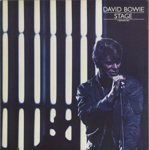 David Bowie Stage - Deletion cut 2-LP vinyl record set (Double Album) US BOW2LST692686