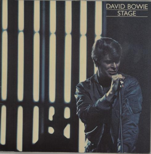 David Bowie Stage 2-LP vinyl record set (Double Album) Belgian BOW2LST676908