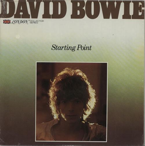 David Bowie Starting Point - Sealed vinyl LP album (LP record) US BOWLPST551619
