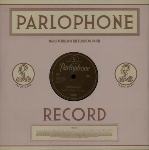 """David Bowie Sue (Or In A Season Of Crime) 10"""" vinyl single (10"""" record) UK BOW10SU615366"""
