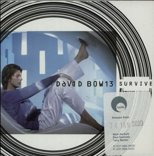 """David Bowie Survive CD single (CD5 / 5"""") UK BOWC5SU148373"""