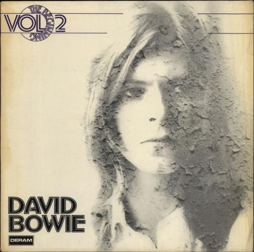David Bowie The Beginning Vol. 2 - EX vinyl LP album (LP record) German BOWLPTH746225