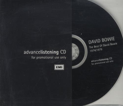David Bowie The Best Of 1974/79 CD album (CDLP) UK BOWCDTH111675