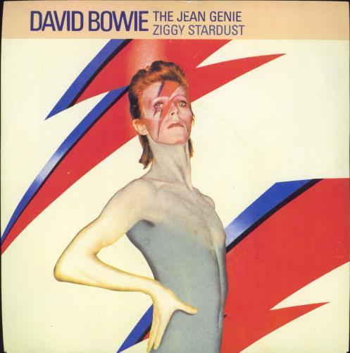 "David Bowie The Jean Genie 7"" vinyl single (7 inch record) UK BOW07TH598820"