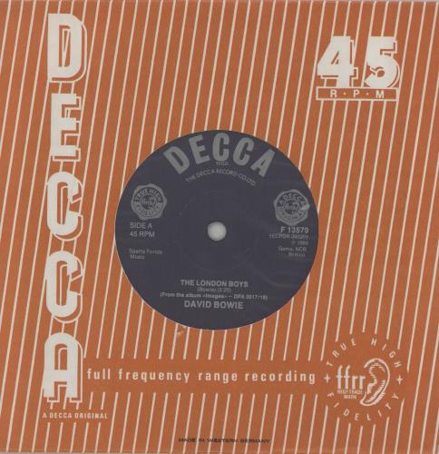 "David Bowie The London Boys - 1982 7"" vinyl single (7 inch record) German BOW07TH760050"