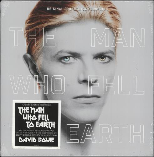 David Bowie The Man Who Fell To Earth - 2CD/2LP Box - Sealed box set German BOWBXTH733676