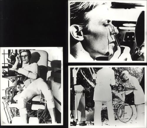 David Bowie The Man Who Fell To Earth - Quantity of Eleven Photographs photograph UK BOWPHTH629719