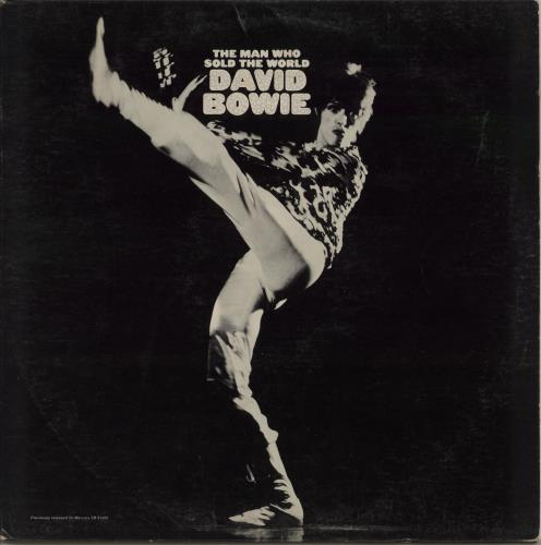 David Bowie The Man Who Sold The World + Inner - VG+ vinyl LP album (LP record) US BOWLPTH214155