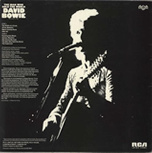 David Bowie The Man Who Sold The World - 2nd + Poster - EX vinyl LP album (LP record) UK BOWLPTH724777