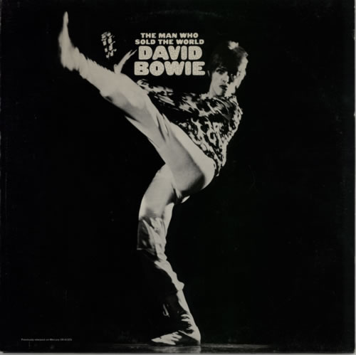 David Bowie The Man Who Sold The World - Complete vinyl LP album (LP record) US BOWLPTH591306