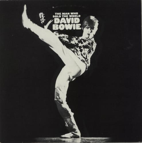 David Bowie The Man Who Sold The World vinyl LP album (LP record) UK BOWLPTH336802