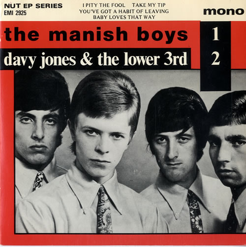 David Bowie The Manish Boys Davy Jones And The Lower