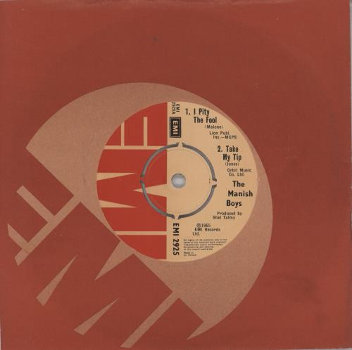 """David Bowie The Manish Boys/ Davy Jones And The Lower Third EP 7"""" vinyl single (7 inch record) UK BOW07IP275240"""