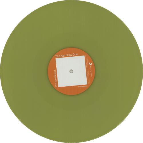 David Bowie The Next Day - 180gm - Yellow Vinyl 2-LP vinyl record set (Double Album) Japanese BOW2LTH670548