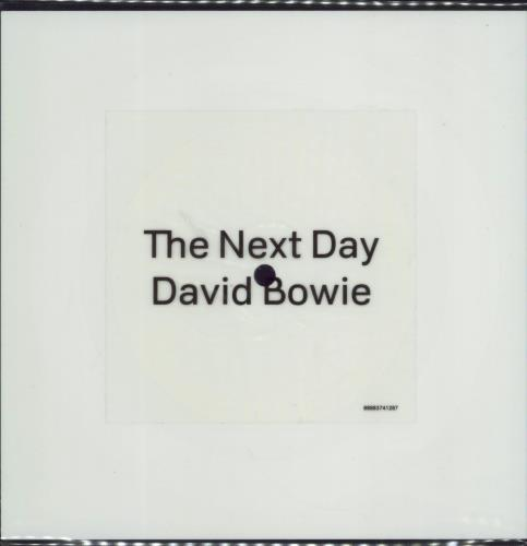 David Bowie The Next Day shaped picture disc (picture disc vinyl record) UK BOWSHTH586738