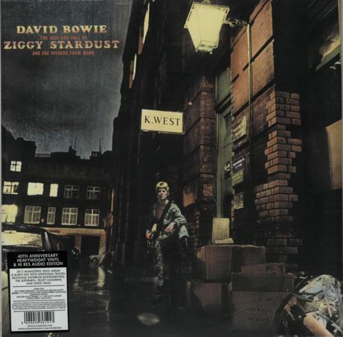 David Bowie The Rise And Fall Of Ziggy - 180gm Vinyl + Sealed vinyl LP album (LP record) UK BOWLPTH618971