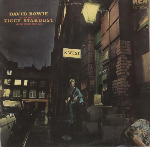 David Bowie The Rise And Fall Of Ziggy - 2nd - VG vinyl LP album (LP record) UK BOWLPTH727485