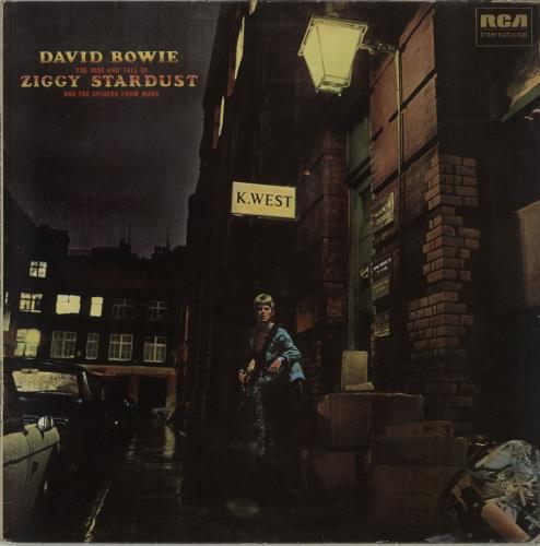 David Bowie The Rise And Fall Of Ziggy - EX vinyl LP album (LP record) UK BOWLPTH628360