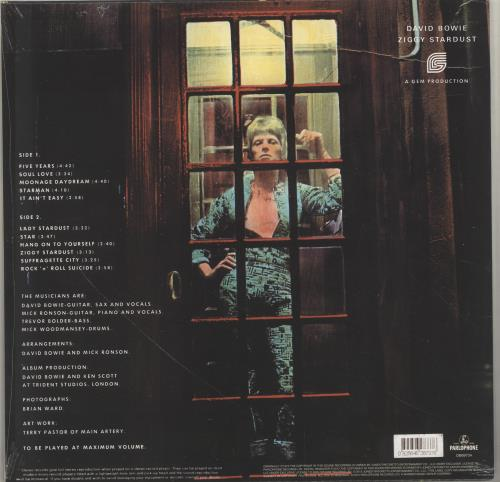 David Bowie The Rise And Fall of Ziggy Stardust - 180gm - Sealed vinyl LP album (LP record) UK BOWLPTH700356