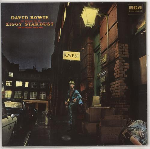 David Bowie The Rise And Fall Of Ziggy Stardust And The Spiders From Mars vinyl LP album (LP record) German BOWLPTH232178